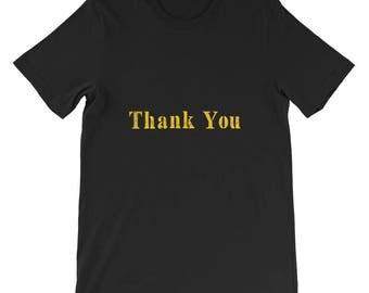 Thank You Short-Sleeve Unisex T-Shirt