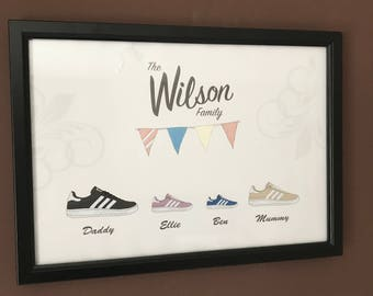 Family Shoes Frame