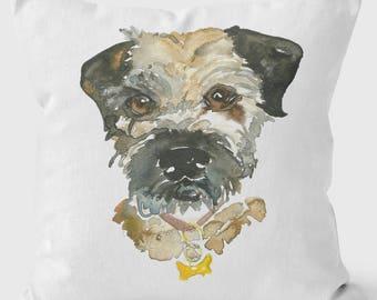 Border Terrier Cushion