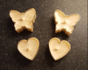 2 Butterfly Scented Tea Lights (Chocolate)