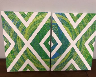 2 Part Pattern Painting