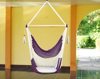 Dark Purple Hammock Chair