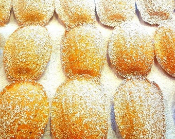 Madeleines ( French Butter Cakes)