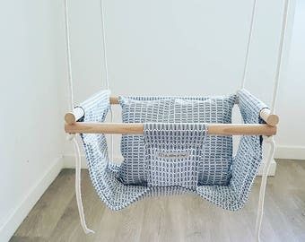 swing baby/toddler fabric swing indoor, outdoor swing, gift, home decor, indoor play