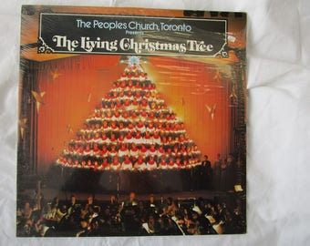 The Peoples Church Toronto / The Living Christmas Tree / Sealed Vinyl LP / Peoples / PC 102