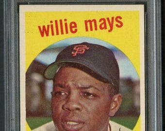 1959 Topps #50 Willie Mays PSA 6 -High End