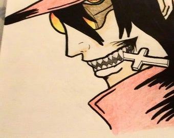 Alucard Hellsing Drawing