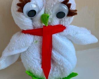 Animal Flannel Owl