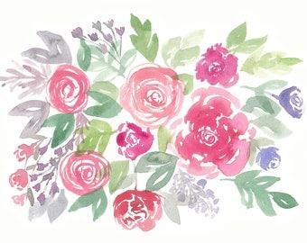 Mini Floral Print
