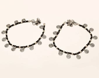 Anklets INDIAN Jewellery   payal pair of Anklet   Artificial Jewellery OXIED ANKLETS