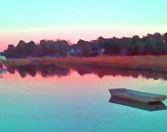 Twilight on Battery Creek