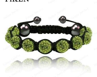 Crystal shamballa bracelets