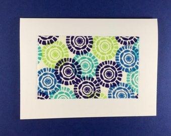 fabric notecard