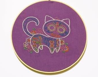 Gato Muerto Embroidery