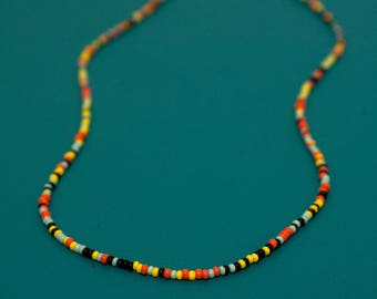 Seed bead Necklaces // Multicolored // Long and Short
