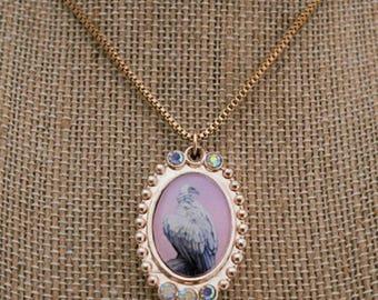 Vulture Aurora Borealis Necklace