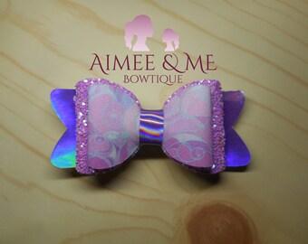 Purple Smoke Bow