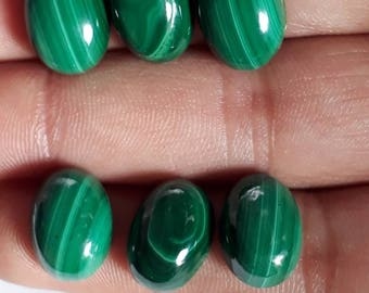 Top Quality!!!!! 10 pcs Malachite Cabochone 100% natural gemstone all sizes are available