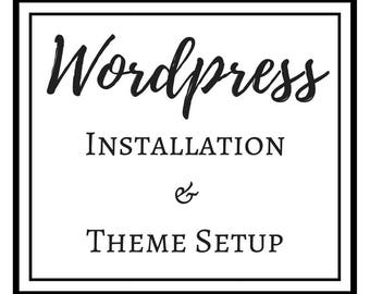 Wordpres setup