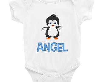 Angel Penguin Infant Bodysuit