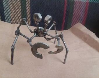 Metal scrap art