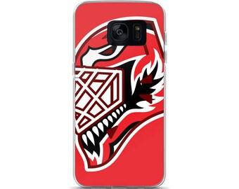 """Red """"92"""" Goalie Mask Samsung Case"""