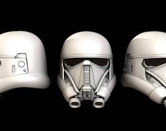 Star Wars Rogue One DeathTrooper Helemet files.