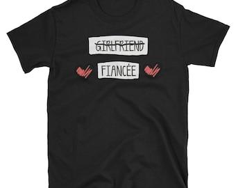 Fiance Shirt - Proposal Shirt - Fiance TShirt - Getting Married Shirt - Marriage Announcement Shirt - Girlfriend - Getting Married