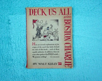"1st EDITION Pogo ""Deck Us All With Boston Charlie"" 1963 Paperback"