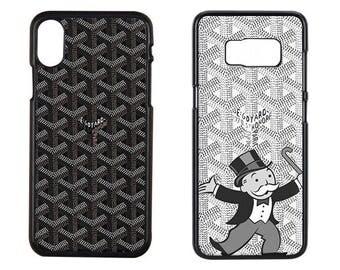 Black Goyard Phone Case, Goyard Snake iPhone x Case, Black Goyard iPhone Case, Goyard iPhone Case, Goyard iPhone 7 Plus, Goyard Galaxy S8