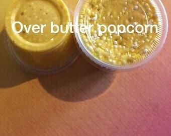 Over Butter Popcorn