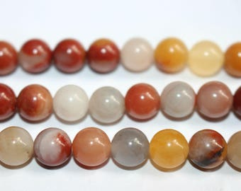 15 Inches Full strand,Natural Three Color Jade Smooth round beads 6mm 8mm 10mm 12mm,loose beads,semi-precious stone