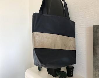 Hand bag magnetic clasp, tote bag, tote bag