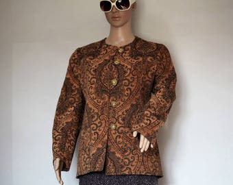 Jacket barock 70 s T38