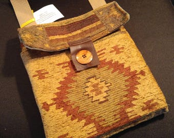 Small southwestern outing purse