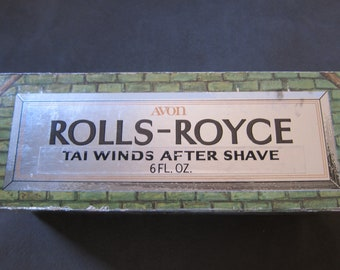Vintage Avon Men's Cologne Bottle, Rolls-Royce