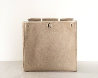 Hermes Herbag GM Beige Canvas Spare Bag