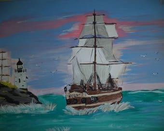 H.S. Bounty Ship