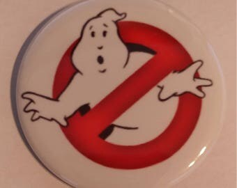 Ghostbusters No Ghosts 2.25 Inch Wearable Button