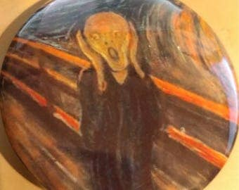 The Scream 2.25 Inch Wearable Button