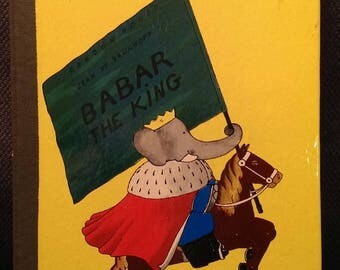 Babar the King 1935 by Jean De Brunhoff, Random House