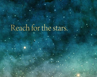 Reach for the Stars range of notebooks and diaries