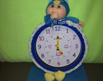 Cabbage Patch Cutie Owl Clock
