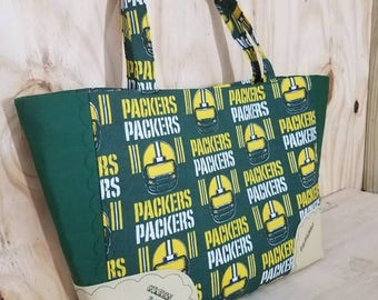 Large Green Bay Packers Tote