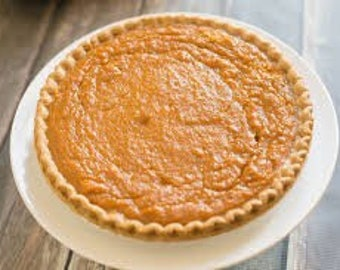 Southern 9 inch Delicious Sweet Potato Pie
