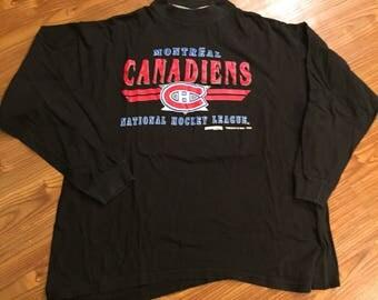 Vintage 90s Montreal Canadiens Longsleeve