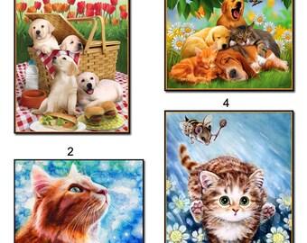 5D Diamond Mosaic Cat Diy Diamond Embroidery Animal Square Paste Full Cross Stitch Kit Diy Diamond Painting