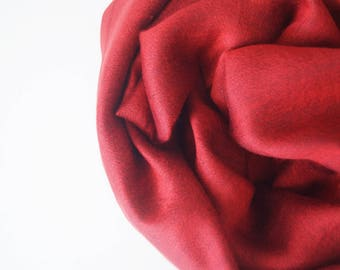 cashmere and silk stole