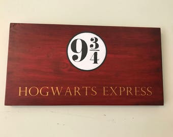 Hogwarts Express Sign