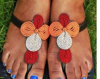 Maasai Machungwa Sandals